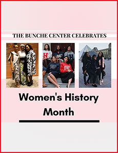 Issue 2 - Ralph J. Bunche International Affairs Center Newsletter!