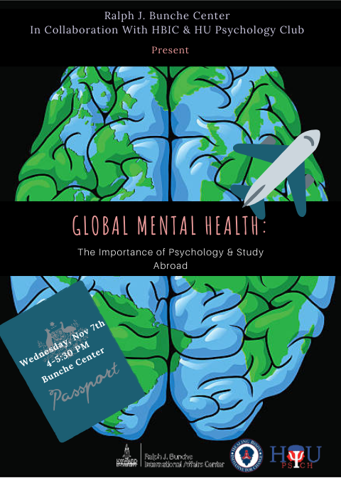 Global Mental Health: The importance of psychology & study abroad